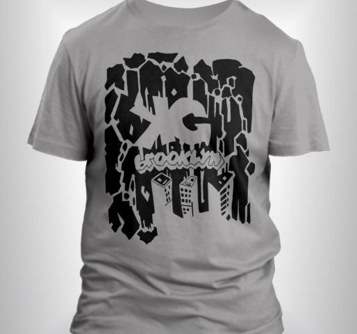 KG Brooklyn T-shirt (Grey/Black)